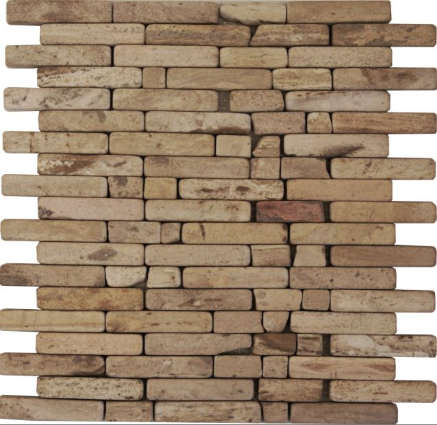 Bachas Para Baño Rusticas:Brick Crash Tambor Lenga
